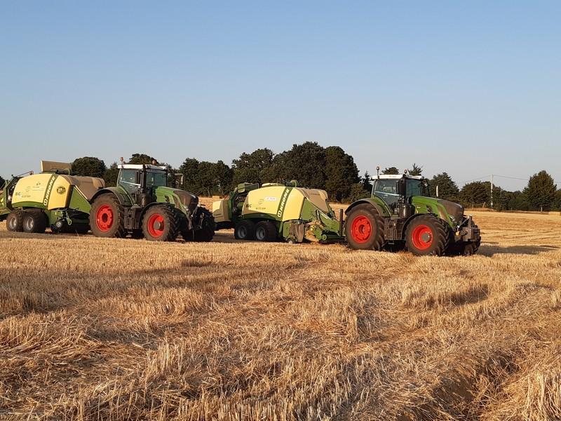 Travaux agricoles - Pressage