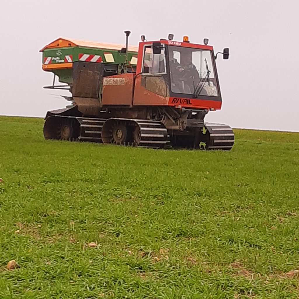 Travaux Agricoles- Epandage engrais