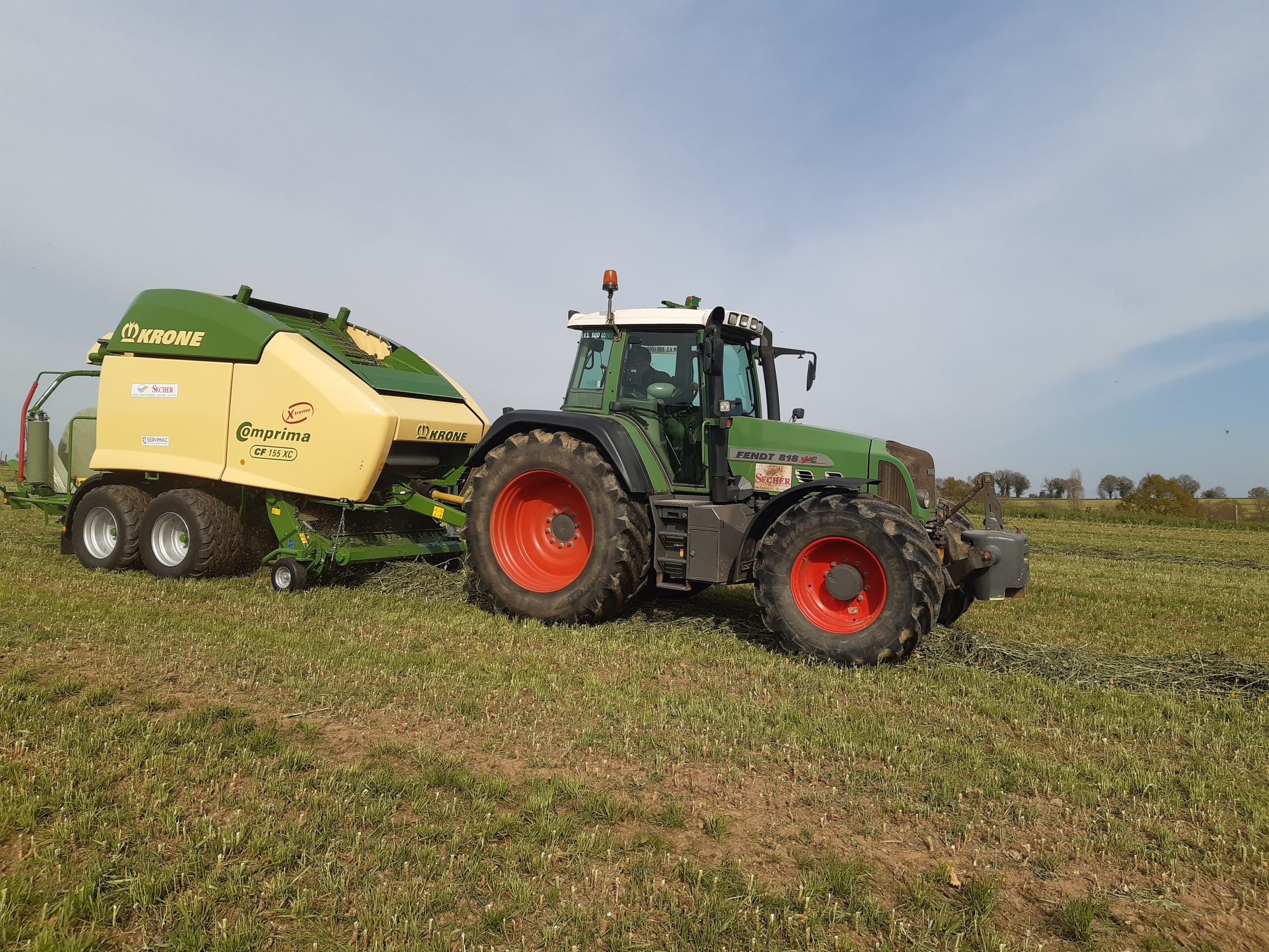 Travaux Agricoles- Enrubannage