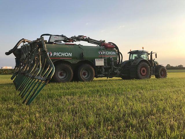 Travaux agricoles- Epandage de lisier